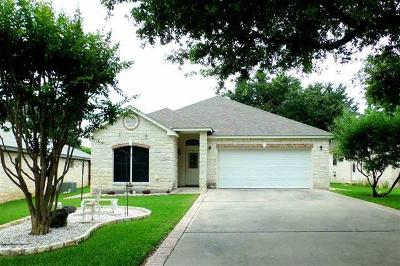 Burnet County Single Family Home For Sale: 121 Firestone Pl