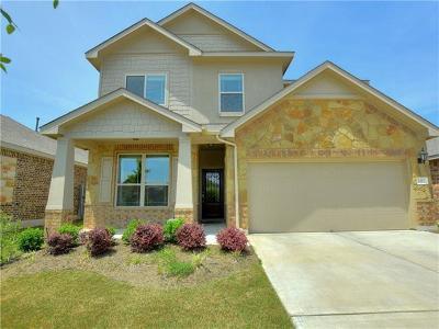 Leander Single Family Home For Sale: 1217 Gaviota Ln