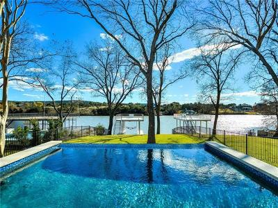 Bell County, Bosque County, Burnet County, Calhoun County, Coryell County, Lampasas County, Limestone County, Llano County, McLennan County, Milam County, Mills County, San Saba County, Williamson County, Hamilton County Single Family Home For Sale: 2140 Williams Lakeshore