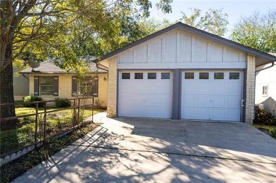 Austin TX Single Family Home For Sale: $267,500
