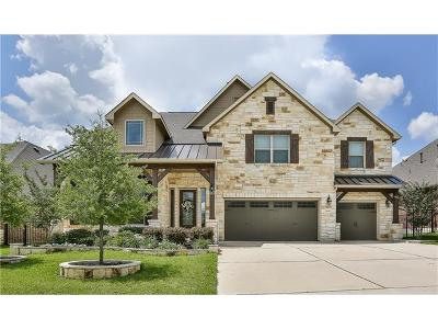 Round Rock Single Family Home For Sale: 2020 Westvalley Pl