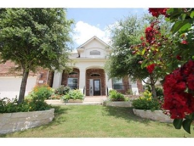 Cedar Park Single Family Home For Sale: 814 Arrowhead Trl