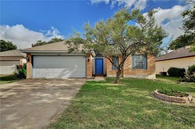 Leander Single Family Home For Sale: 1003 Lantana Ln