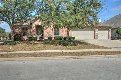 Round Rock Single Family Home Pending - Taking Backups: 3118 Pointe Pl