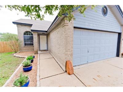 Cedar Park Single Family Home Pending - Taking Backups: 1110 Brashear Ln