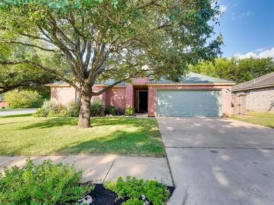 Cedar Park Single Family Home Pending - Taking Backups: 1808 Hollow Ridge Dr