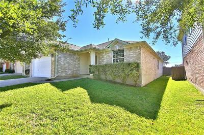 Round Rock Single Family Home For Sale: 3420 Shiraz Loop