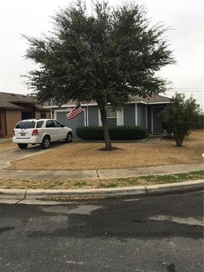 Del Valle Single Family Home Pending - Taking Backups: 12432 Laguardia Ln