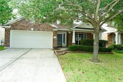 Round Rock Single Family Home For Sale: 716 Arrowood Pl
