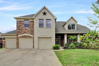 Manor Single Family Home Pending - Taking Backups: 11201 Terrace Meadow Way