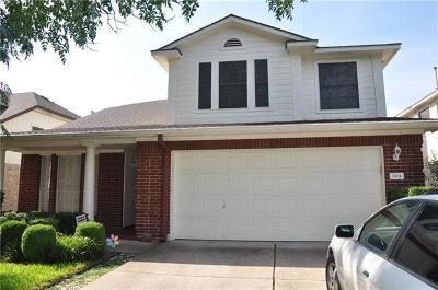 Cedar Park Single Family Home Pending - Taking Backups: 604 Settlement St