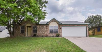 Killeen Single Family Home For Sale: 5108 Parkwood Dr