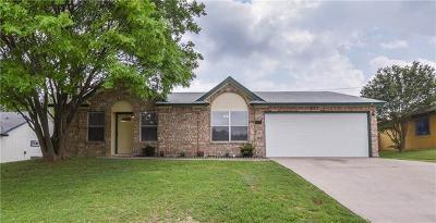 Killeen TX Single Family Home For Sale: $132,900