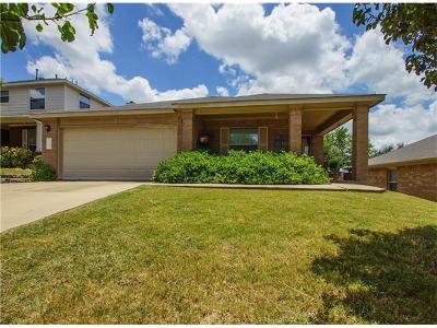 Buda Single Family Home For Sale: 160 Plumbago Cv