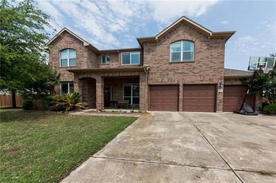Pflugerville Single Family Home For Sale: 18913 Hill Top Canyon Cv