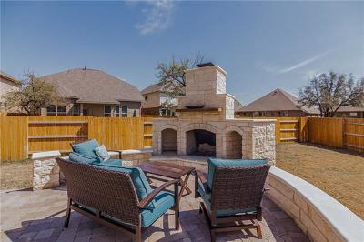 Round Rock Single Family Home For Sale: 4026 Mason Cove