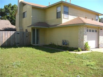 Round Rock Rental For Rent: 1000 Woodlief Trl