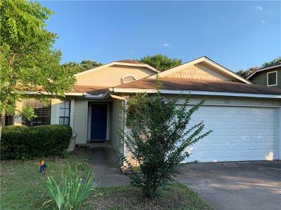 Cedar Park Single Family Home For Sale: 800 Primrose Ln