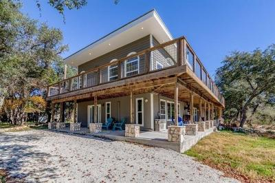 Wimberley Single Family Home Pending - Taking Backups: 1001 Sandy Point Rd