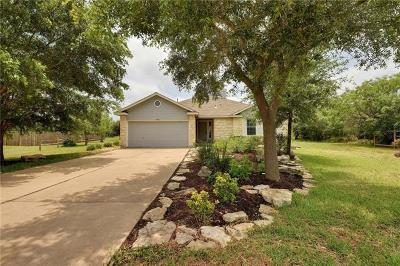 Bastrop County Single Family Home Pending - Taking Backups: 146 Greens Creek Cv