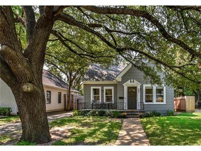 Austin Single Family Home For Sale: 1609 Westover Rd