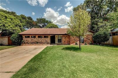 Travis County Single Family Home For Sale: 2526 Baxter Dr