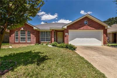 Round Rock Single Family Home Pending - Taking Backups: 2420 Willow Way