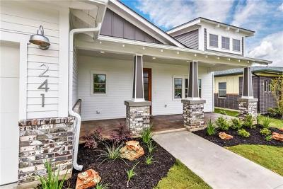 Liberty Hill Single Family Home For Sale: 241 Charli Cir