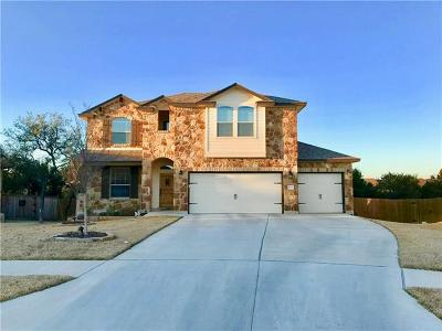 Harker Heights Single Family Home For Sale: 3398 Vineyard Trl