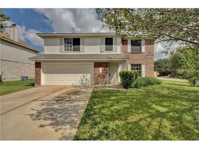 Pflugerville Single Family Home For Sale: 1308 Honeysuckle Ln
