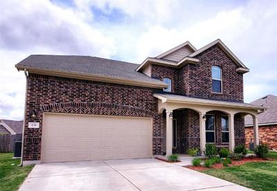 Hutto Single Family Home For Sale: 138 Plantain Dr
