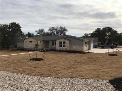 Lago Vista Single Family Home For Sale: 20907 E Van Allen Cv