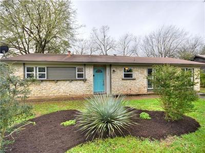Austin Single Family Home Pending - Taking Backups: 1105 Chesapeake Dr