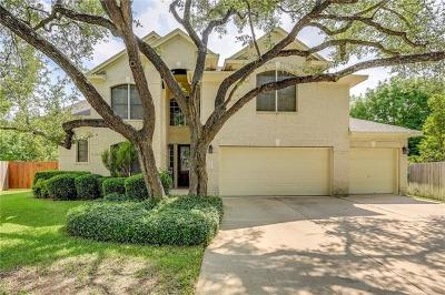 Cedar Park Single Family Home For Sale: 2400 Hunters Creek Cv
