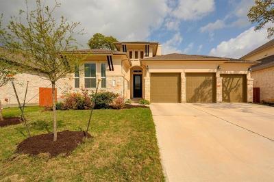 Cedar Park Single Family Home For Sale: 4109 Bison Bnd