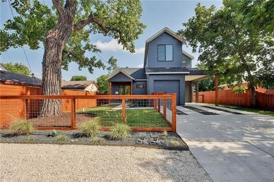 Austin Single Family Home For Sale: 2610 Oaklawn Ave #1