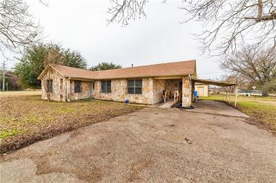 Single Family Home For Sale: 1602 State Highway 95