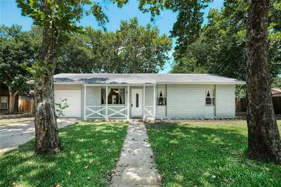 Round Rock Single Family Home Pending - Taking Backups: 1809 Dixie Ln