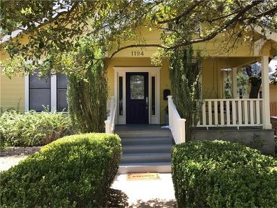 Single Family Home For Sale: 1194 San Bernard St