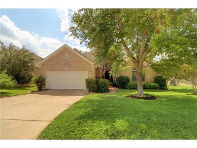 Cedar Park Single Family Home For Sale: 910 Antelope Rdg