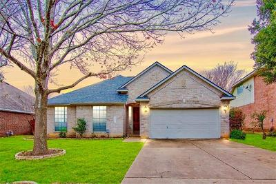 Leander Single Family Home For Sale: 1301 River Oak Dr