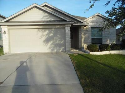 Hutto Single Family Home For Sale: 318 Baldwin St