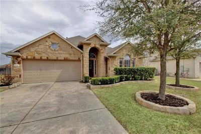 Pflugerville Single Family Home Pending - Taking Backups: 824 Portchester Castle Path