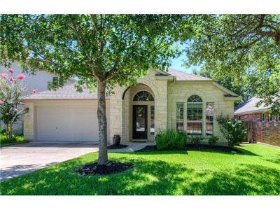 Cedar Park Single Family Home For Sale: 1006 Horne Dr