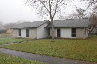 Austin Single Family Home Pending - Taking Backups: 12519 Limerick Ave