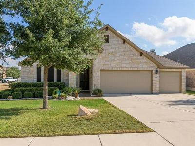 Leander Single Family Home For Sale: 2804 Wildcatter