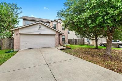 Del Valle Single Family Home Pending - Taking Backups: 13101 Lofton Cliff Dr