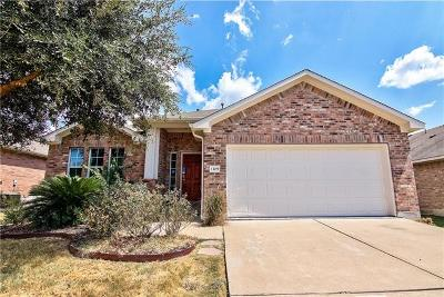 Round Rock Single Family Home For Sale: 1109 Alexandria Way