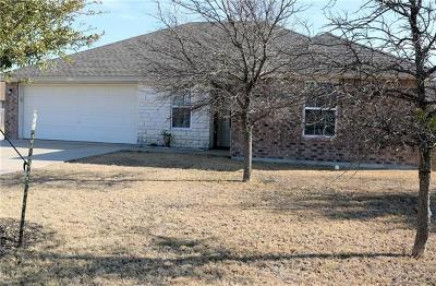 Williamson County Single Family Home Pending - Taking Backups: 301 Turquoise Way