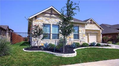 Pflugerville Single Family Home For Sale: 18412 Orvieto Dr